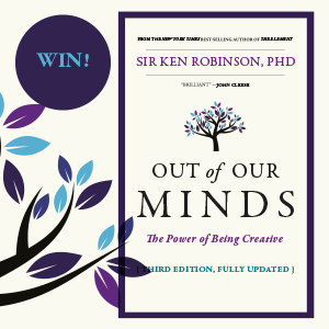 GIVEAWAY: Win a signed copy of 'Out of Our Minds' - 3rd Edition