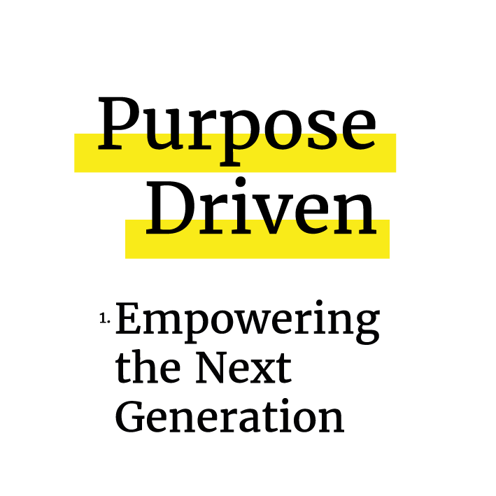 Tickets on sale: Purpose Driven #1 Empowering the Next Generation